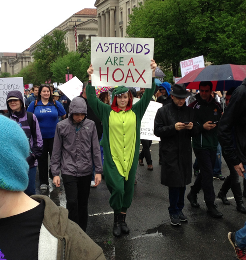 Science March, catchy signs