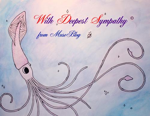 Sympathy card, page 1