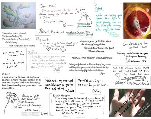 Sympathy card, page 2