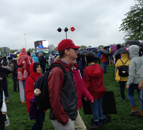 Science march, hats